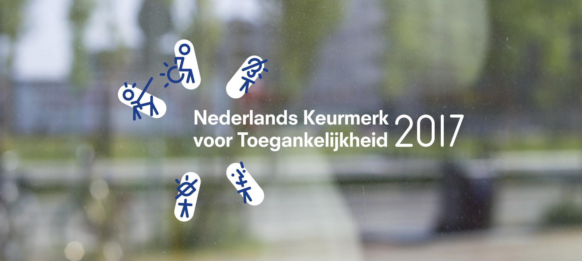 Nederlands Keurmerk voor Toegankelijkheid 2017